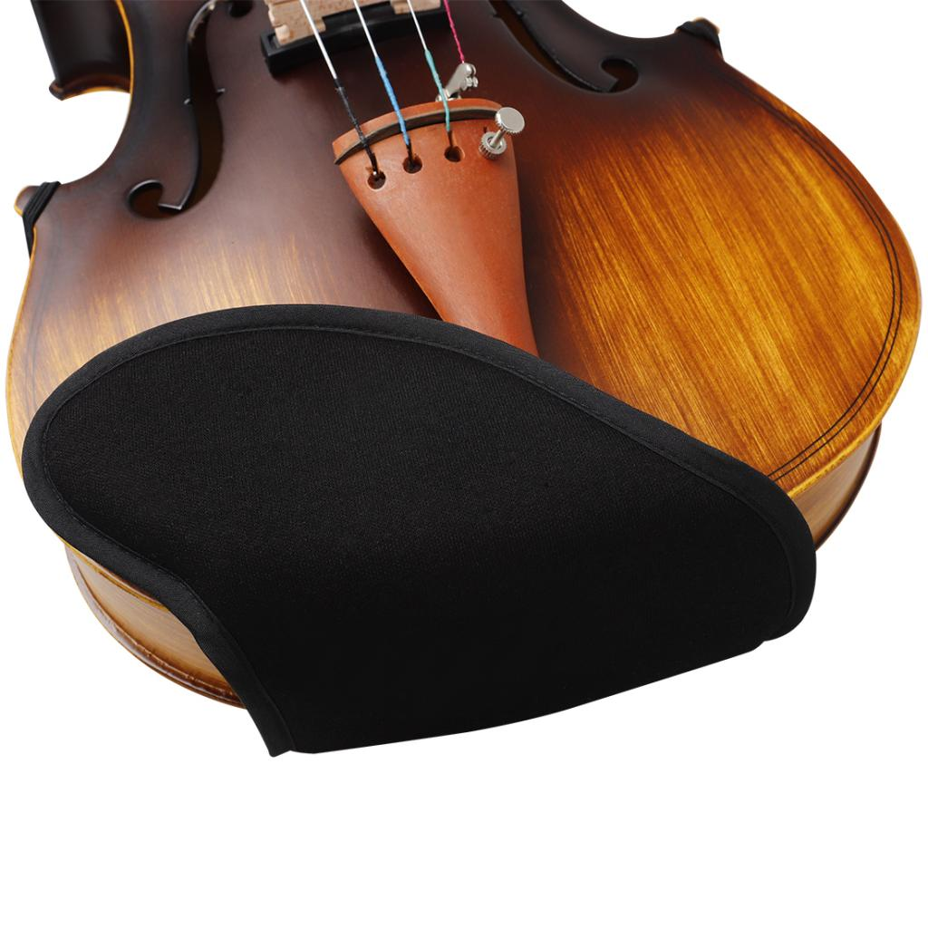 adjustable violin shoulder pad plastic pad 3 4 4 4 violin violin 4 4 violin accessories and accessories 1pc Violin Velvet Shoulder Pad for 4/4-4/3 Violin Breathable Shoulder Rest