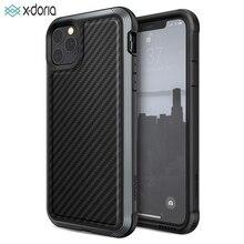 X-doria Defence Lux étui pour iPhone de téléphone 11 Pro Max housse de boîtier en aluminium testée par chute de qualité militaire pour iPhone 11 Pro