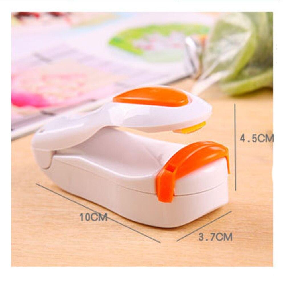 Mini Wärme Abdichtung Maschine Kunststoff Tasche Smart Sealer Maschine Vakuum Lebensmittel Tasche Resealer Clip Schellen Für Taschen Küche Gadget Dropship