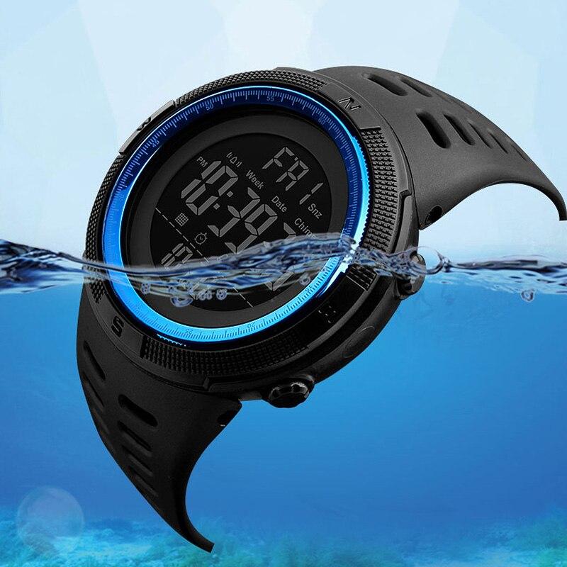SKMEI Fashion Outdoor Sport Watch Men Multifunction Watches Alarm Clock Chrono 5Bar Waterproof Digit