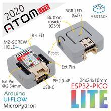 M5Stack 2020 Neue Arrivial Offizielle ATOM Lite ESP32 Entwicklung Kit Neo LED Arduino Blockly Programmierbare Kit