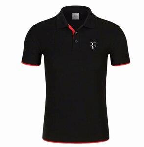 2020 New Polo Shirt RF roger federer logo Cotton Polo shirt Short Sleeve High Quantity polo shirts