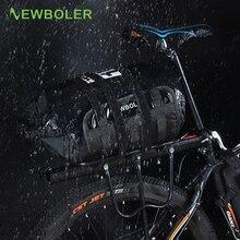 Bicycle Saddle Bag Full Waterproof Travel Handbag Casual Bike Luggage Carrier Bag Shoulder Crossbody Cycling Rear Bag 10/15/20L