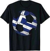 greece soccer ball flag jersey shirt greek football gift
