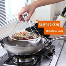 أدوات مطبخ الفولاذ المقاوم للصدأ تبخير طبق مكافحة تحرق كليب خزفي عدم الانزلاق وعاء مع جهاز صينية قطعة أثرية المنزل Cocina