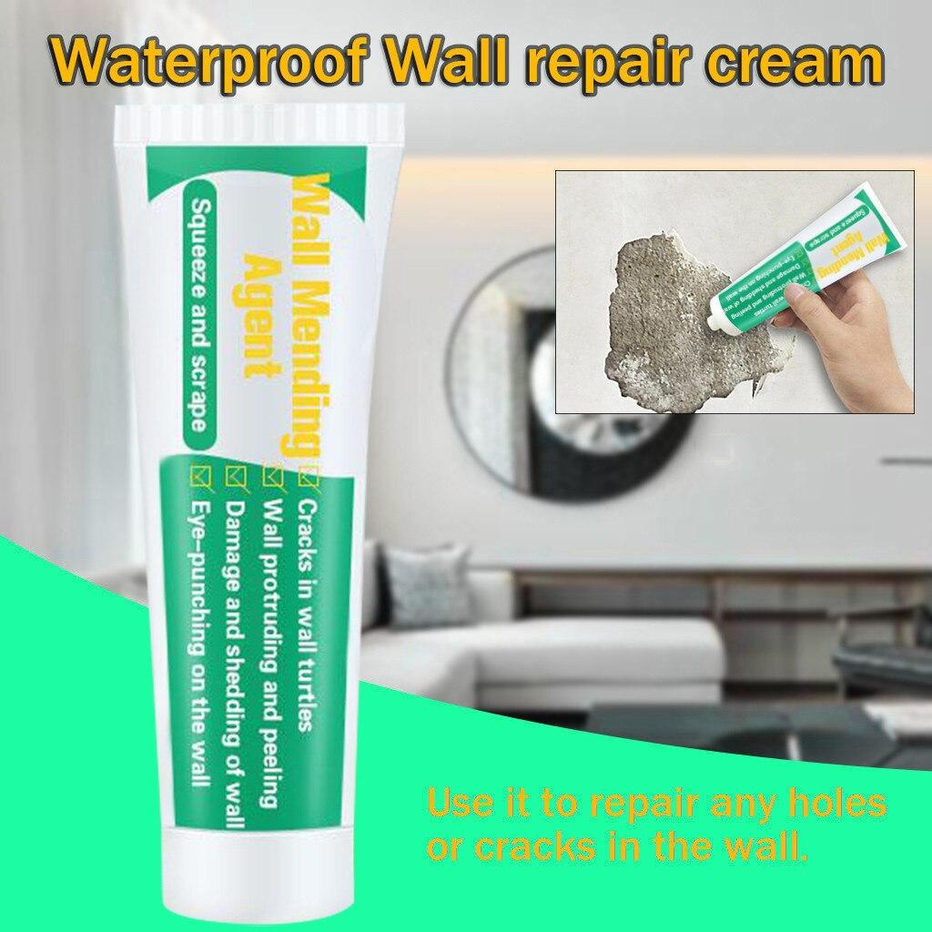 1pc 100ml Valid Mouldproof Wall Mending Agent Wall Repair Cream Wall Crack Nail Repair Quick-Drying Patch Restore Original#YL5
