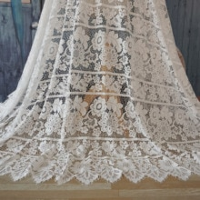 Top quality white wedding dress lace, mother of the bride dresses lace material cord lace 2020 Augus