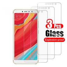 3pcs Tempered Glass for Xiaomi Redmi S2 Screen Protector on Xiaomi Redmi S2 Y2 Protective Film