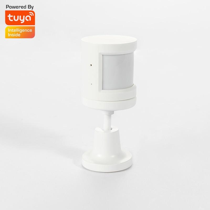 Tuya ZigBee PIR Sensor 2 4GHz Wireless Human Body Sensor With Foot Stand Motion Detect Used With Tuya ZigBee Gateway Smart Home