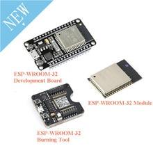 ESP32 carte de développement ESP32-WROOM-32 outil de montage de combustion de ESP-32 Module de ESP-32S ESP32S Bluetooth et WIFI double cœur CPU