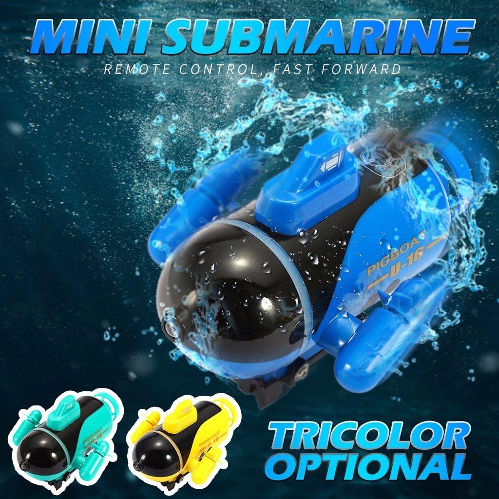 Mini micro rádio que compete o controle remoto do barco com diodo emissor de luz rc brinquedo #40