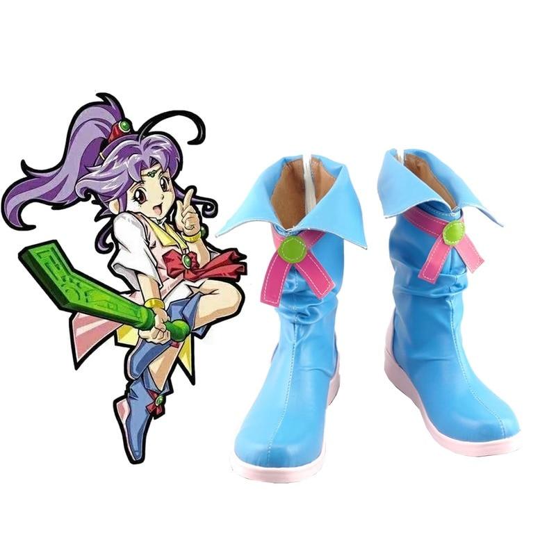 للجنسين أنيمي Shenbing الاطفال Beiming الثلوج هالوين تأثيري ازياء تأثيري أحذية مخصص