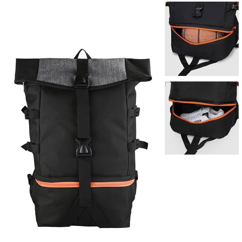 حقيبة ظهر رياضية متعددة الوظائف للرجال ، حقيبة ظهر لكرة السلة للمدرسة ، الرجبي ، التنزه ، اللياقة البدنية ، الشباب ، كرة القدم