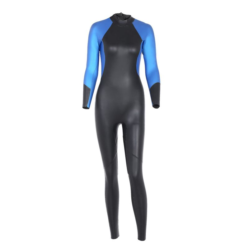 Q645 Warm Water Skiing Cold Light Leather Wetsuit Super Elastic Snorkeling Suit 3mm Triathlon Suit Shark Skin Diving Suit