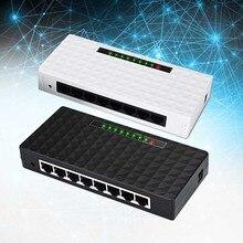Network Unmanaged LAN Full Duplex RJ45 Sturdy Home 1000 Mbps Desktop Hub Splitter 8 Port Gigabit Ethernet Switch Self Adaptive