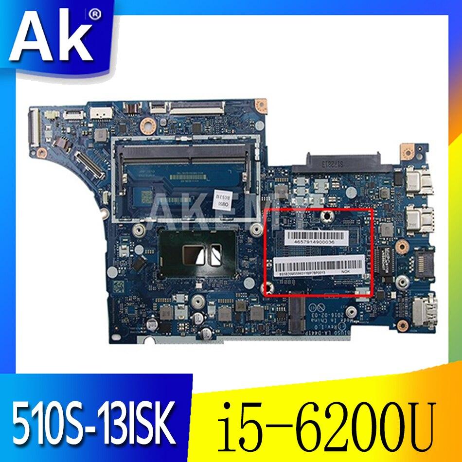 LA-D441P اللوحة الأم مناسبة لينوفو 510S-13ISK دفتر اللوحة CPU i5 6200U DDR4 100% اختبار العمل