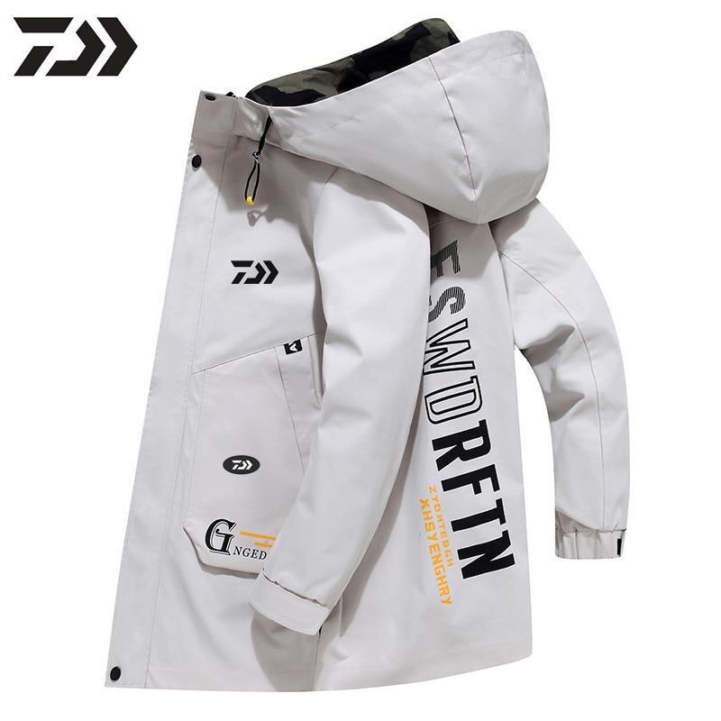 Daiwa Spring Outdoor Running Camping Hiking Fishing Jacket Sun-Protect Ultralight Waterproof Windbreaker Autumn Fishing Clothes