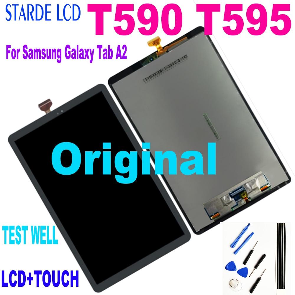 10.5 ''لسامسونج غالاكسي تبويب A2 T590 T595 SM-T595 SM-T590 LCD شاشة عرض لوحة شاشة تعمل باللمس الجمعية استبدال