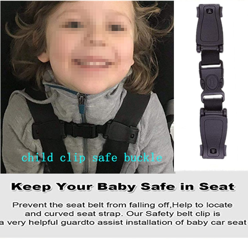 Durable Harness Chest Clip Safe Buckle Car Baby Safety Seat Strap Belt for Baby Kids Children Safety Strap 16cm Car Accessories
