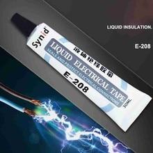 Bande liquide imperméable isolante liquide de 30ml chargeant la bande électrique disolation Anti-UV de réparation universelle de câble de données de réparation