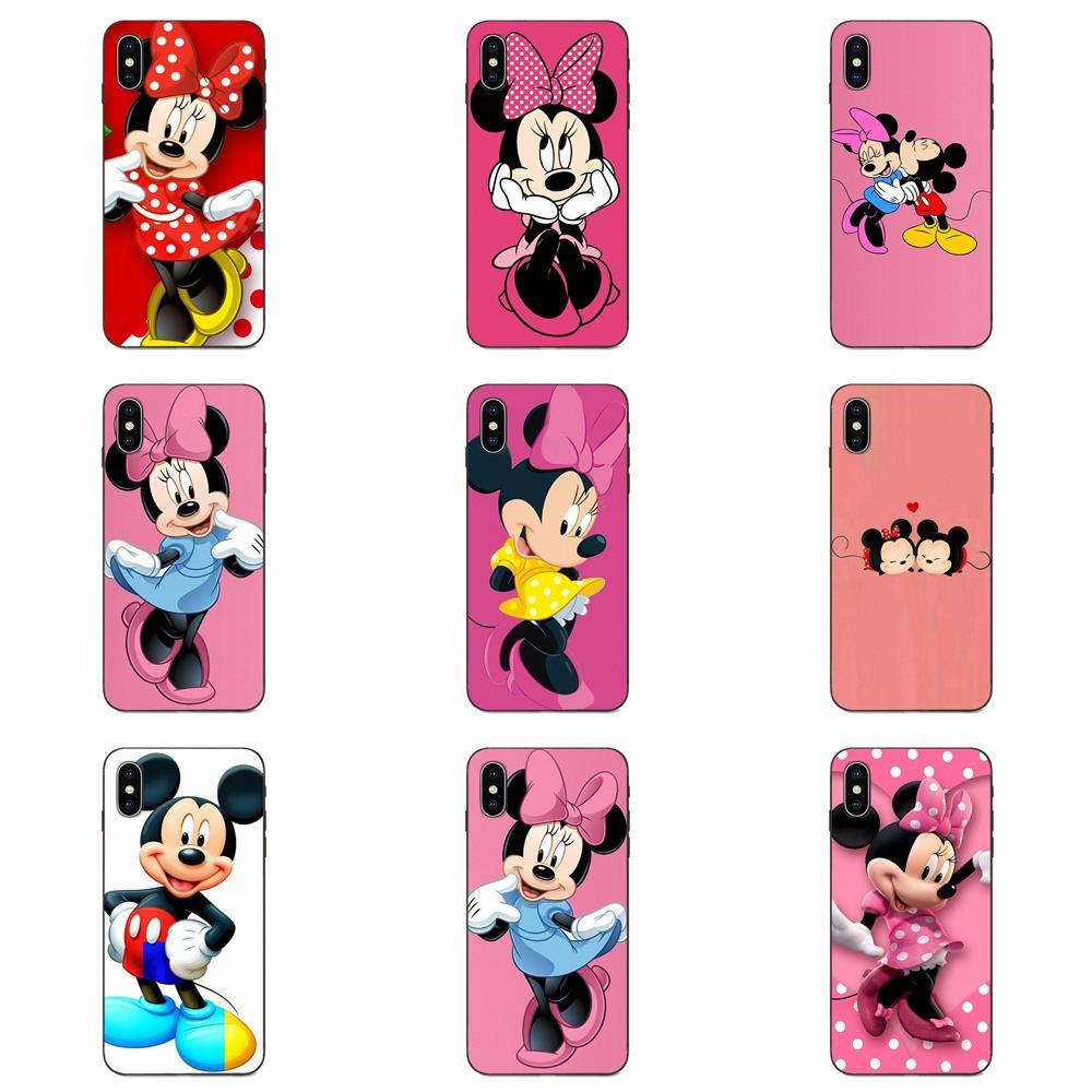 Pink Minnie Anime Cartoon Mouse For Huawei Mate 9 10 20 P8 P9 P10 P20 P30 Lite Mini Play Pro P smart Plus Z 2017 2019