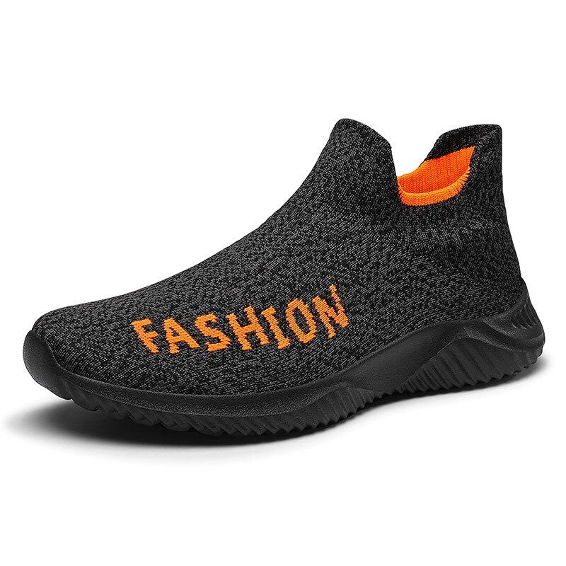 Walking Shoes Summer Mesh Weave Light Breathble Woman Men Sport Shoes Fashion Male Flats Outdoor Casual Shoes Socks Shoes