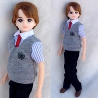 beautiful new arrival licca doll boy friend 25cm whole doll with body head clothes shoes