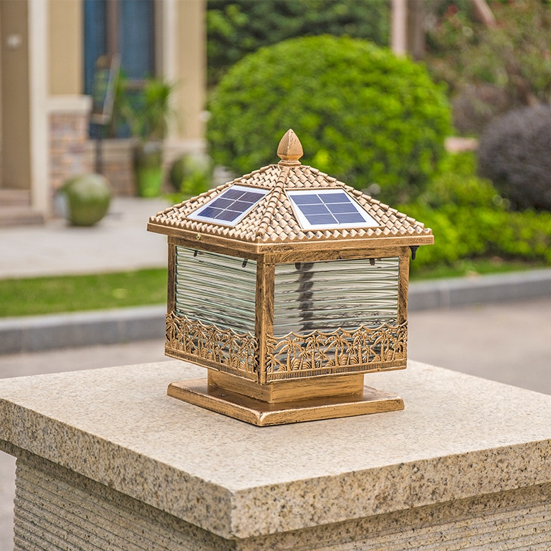 No need to use electricity. Solar street lights are used for garden walls, which are waterproof and energy-saving decorative LED enlarge