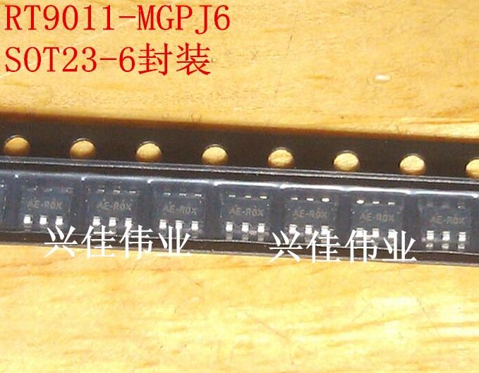 RT9011-MGPJ6 AE SOT23-6 300m