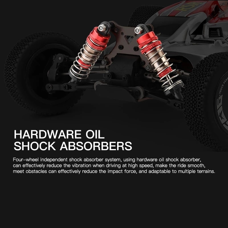 Racing RC Car 1:10 Competition 60KM/H Metal Chassis 4WD Electric High Speed Drift Off-Road Radio Remote Control Toy for Children enlarge