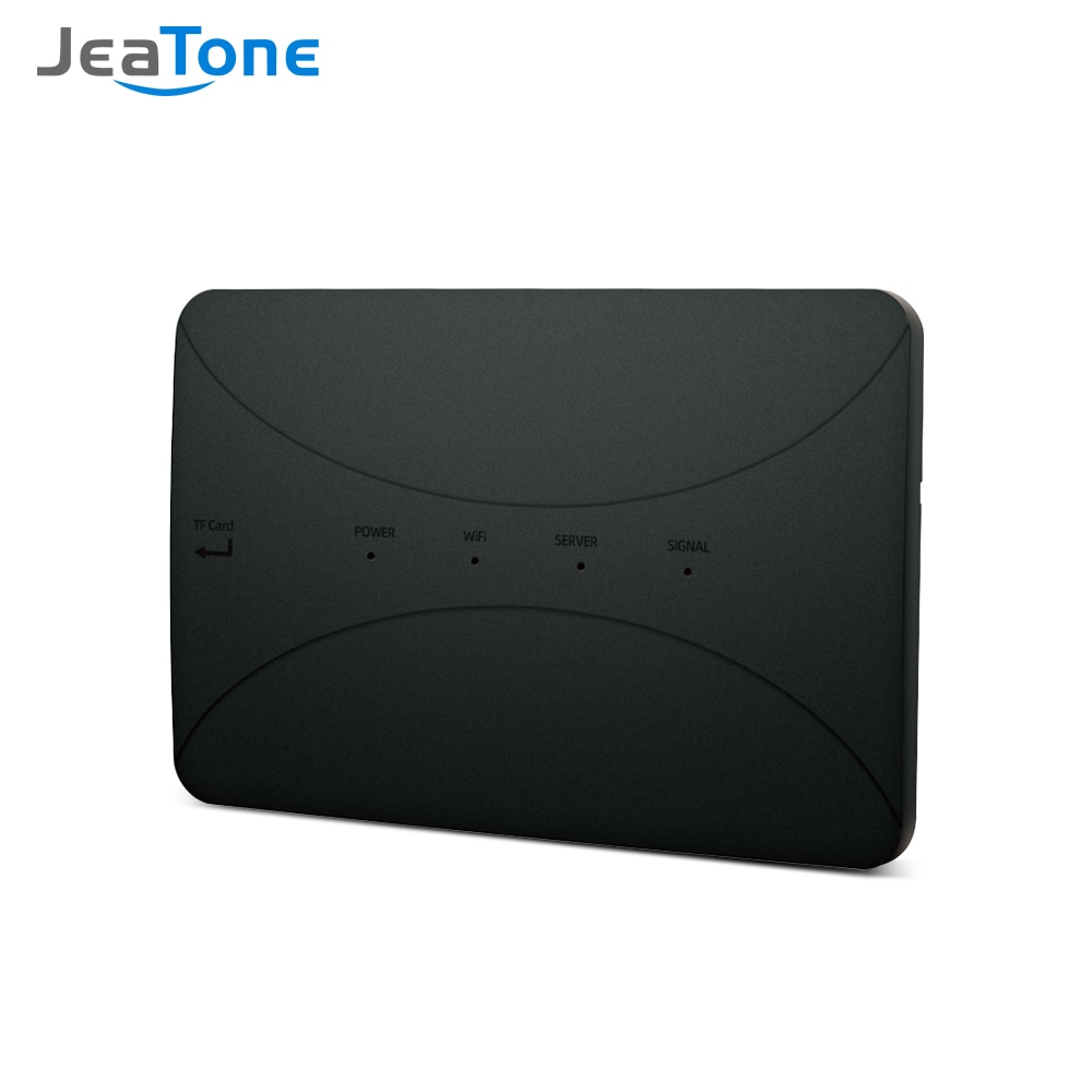 wireless wifi ip box for video doorphone doorbell building intercom system control 3g 4g android iphone ipad app on smart phone Jeatone Wireless WiFi BOX For Analog Video Doorphone Intercom System Control 3G 4G Android iPhone Tuya APP on Smart Phone