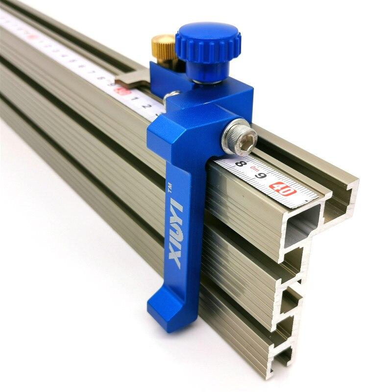 Cercas de perfil de carpintería y soportes deslizantes con ranura en T, Conector de cerca para enrutador de Carpintería/bancos de mesa de sierra