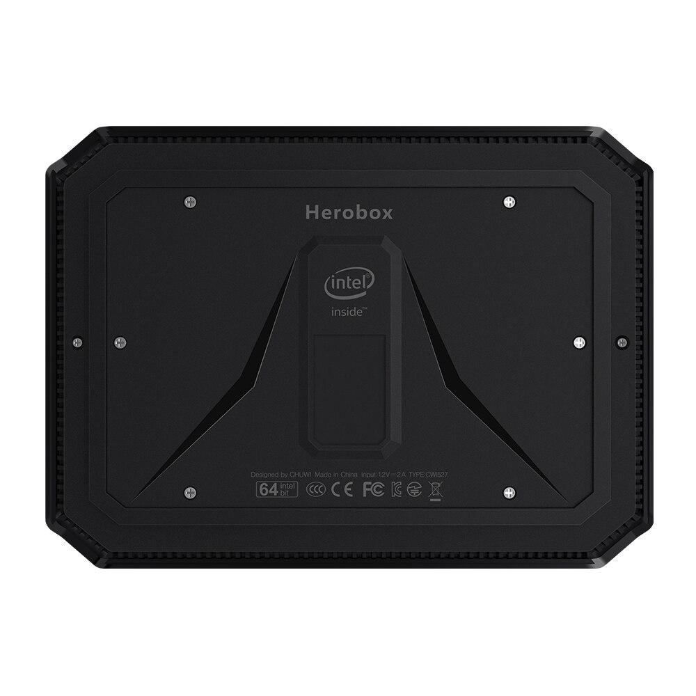 CHUWI Herobox  Mini PC  Windows 10 system Intel Gemini-Lake N4100 Quad Core LPDDR4 8GB RAM 256G SSD Mini PC