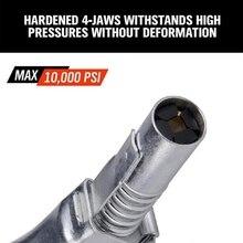 Быстросъемные сопла для смазки, масляный пистолет Ez-Pz, смазка 10000 PSI, блокировочная смазочная муфта, автомобильные запасные части высокого давления