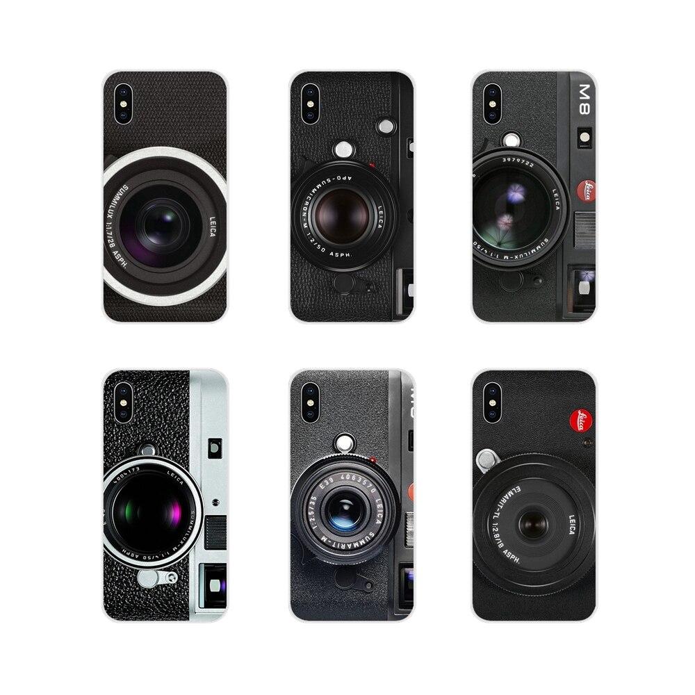 Acessórios capa de telefone para apple iphone x xr xs 11pro max 4S 5S 5c se 6 s 7 8 plus ipod touch 5 6 leica câmera alemão