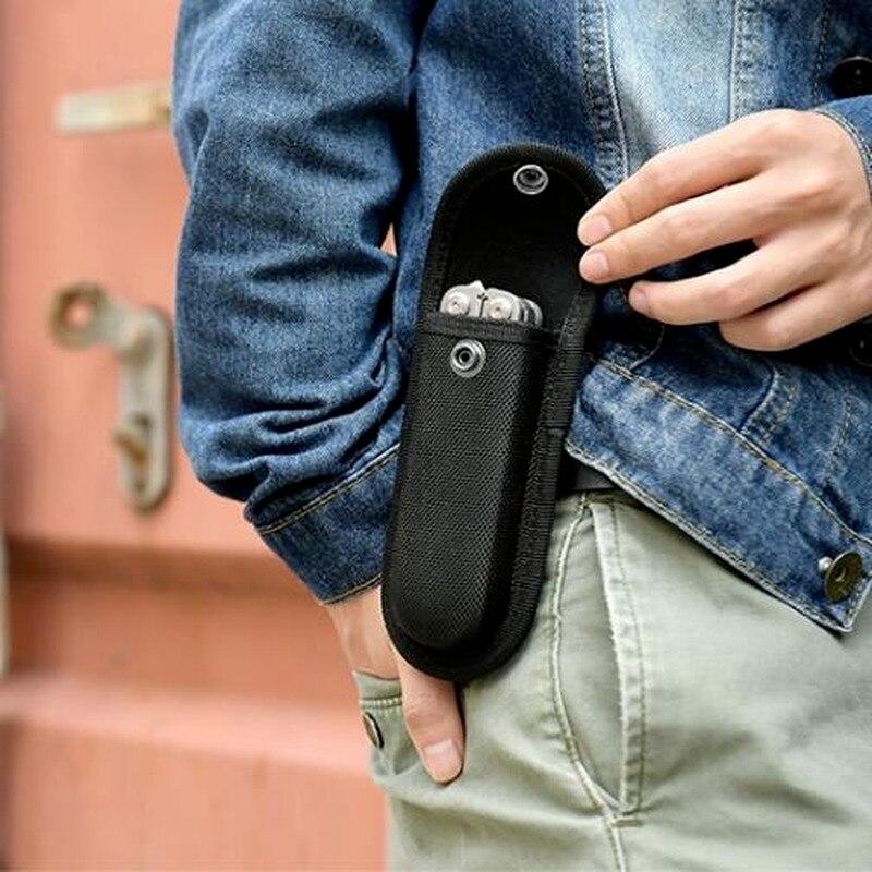 Nylon belt loop Carry Storage Flashlight Pocket Holder Waist Pack Tool Fold Knife Plier Bag Pouch Case Sheath Outdoor Camp kit недорого