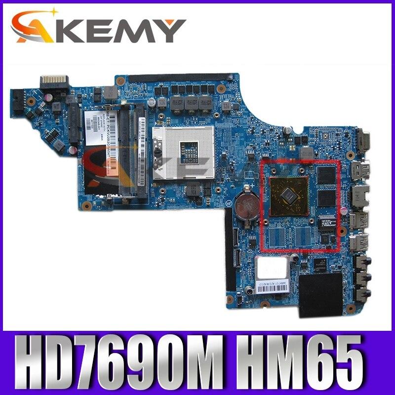 AKemy اللوحة لابتوب HP جناح DV6 DV6-6000 DV6T-6000 665345-001 665345-501 HD7690M HM65 اللوحة