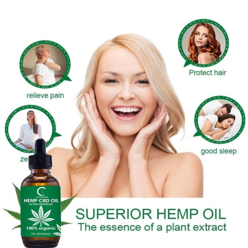 GPGP Greenpeople 10ml CBD Hemp Oil Skin Oil Neck Pain Relief Extract Drops Hemp Seed Oil Anxiety Anti Inflammatory Better Sleep
