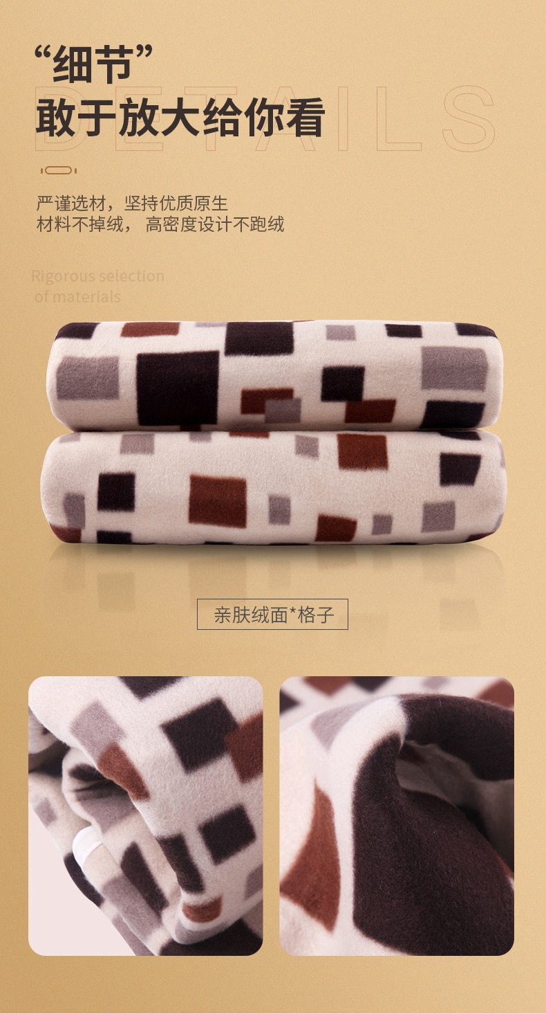 Soft Electric Blanket Body Warmer Double Automatic Heating Blanket Safety Home Couverture Chauffante Warming Products DA60DRT enlarge