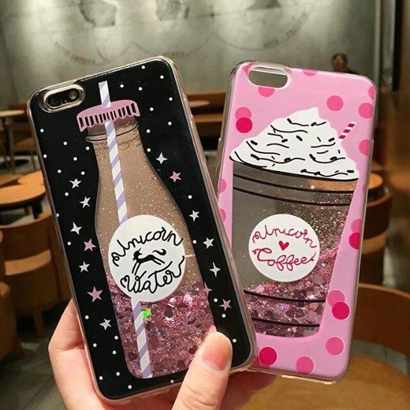Miłość serce gwiazdy Glitter Case dla Huawei Honor 30S 10 10i 20i 20S 6A 6X 6C 7X 7A Pro 7C 7S 8A 8C 8S 8X Play Lite Quicksand okładka