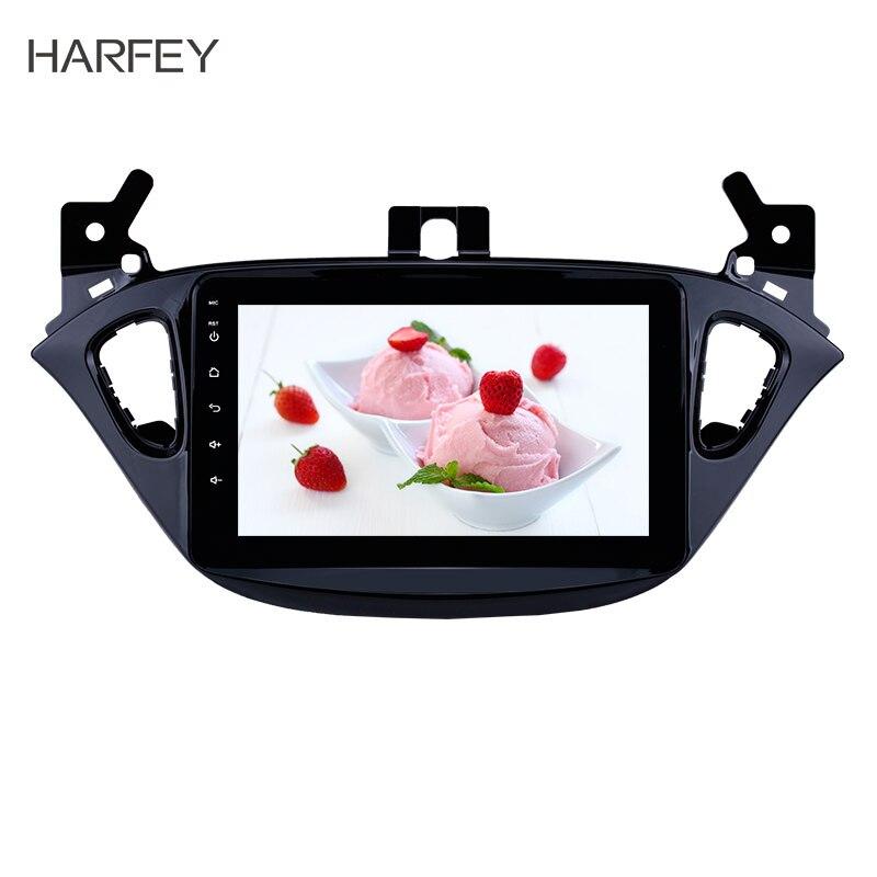 "Harfey-REPRODUCTOR DVR con cámara de visión trasera, estéreo para coche de 8 ""8,1 con Android, GPS HD y 2DIN para Opel Corsa 2015-2019/Opel Adán 2013-2016"