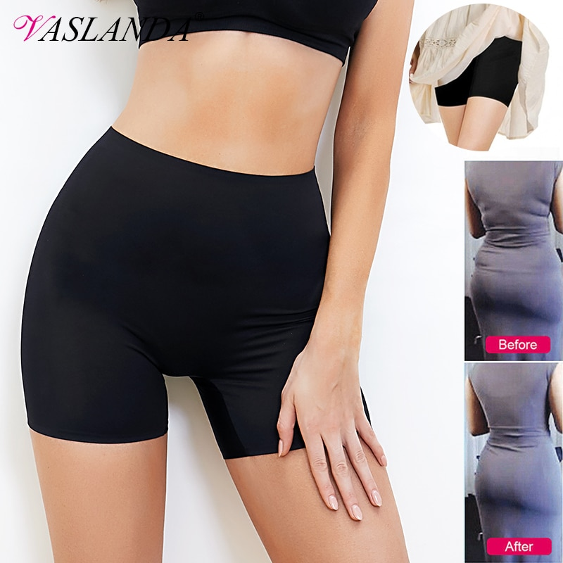 AliExpress - Women Safety Slip Shorts Under Skirt Seamless Anti Chafing Boxer High Waist Boyshorts Anti-emptied Panties Yo Ga Short Pants