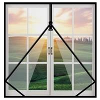 60 100 customize window screening mosquito nets for window with zipper mosquito screens curtain door and window screen