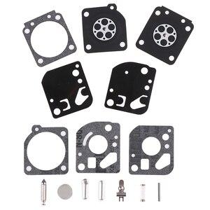 1 Set Carburetor Carb Gasket Diaphragm Repair Rebuild Kit Fit For Zama RB-29 Carb Blower Trimmer Best Sale