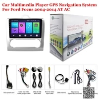 for ford focus at ac 2004 2014 accessories car android multimedia player radio 9inch ips screen stereo gps navigation system