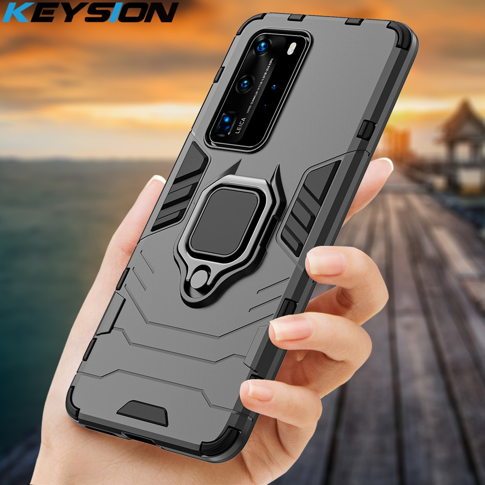 aliexpress.com - KEYSION Shockproof Case For Huawei P40 P40 Pro + Plus Mate 30 P30 P20 Lite Phone Cover for Honor 30 20 Lite 20S 10i X10 8s 9A 8A
