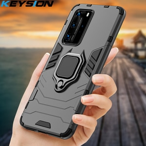 KEYSION противоударный чехол для Huawei P40 P40 Pro + Plus Mate 30 P30 P20 Lite чехол для телефона Honor 30 20 Lite 20S 10i X10 8s 9A 8A