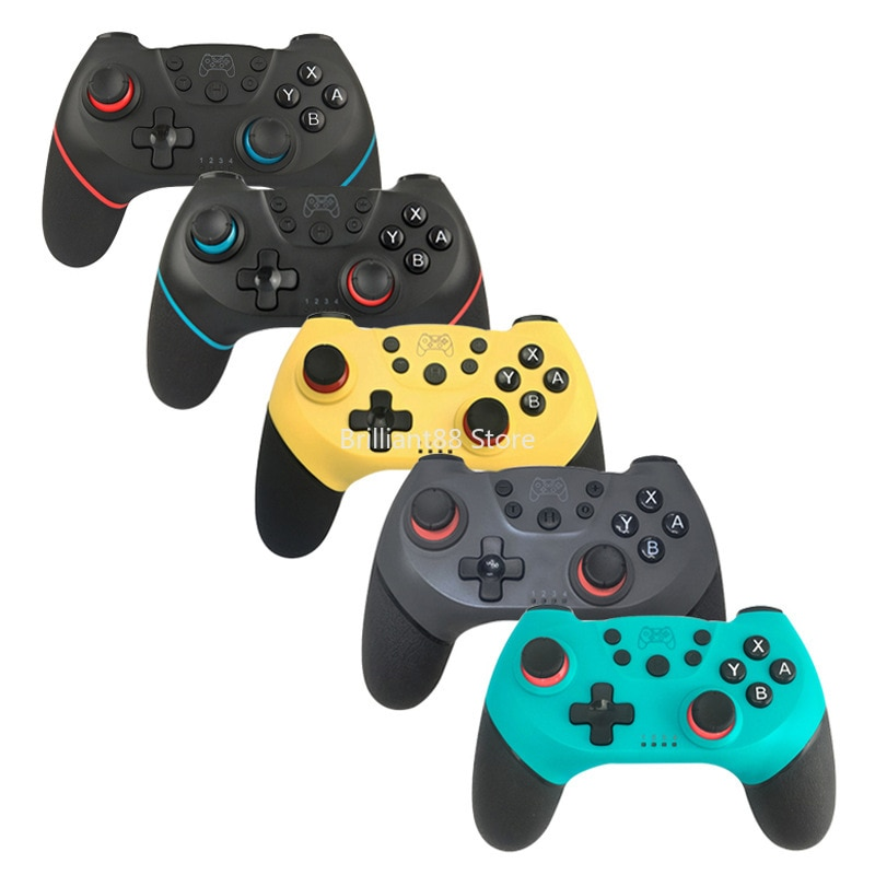Wireless Bluetooth Gamepad Controller Game Joystick with 6-Axis Handle for NS-Switch Pro Switch Console