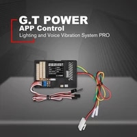 g t power lighting voice vibration system pro app control for rc car parts container truck control box board esc mode