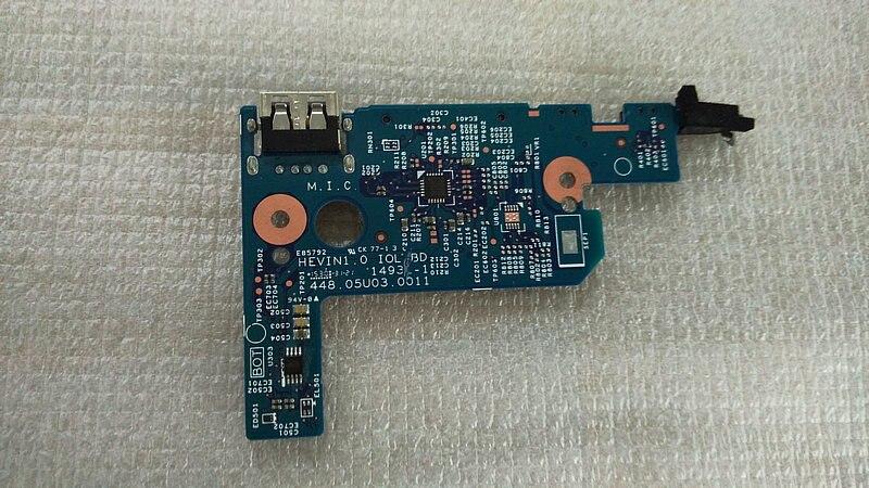 original for HP Pavilion 11-k X360 usb card reader board  448.05U03.0011